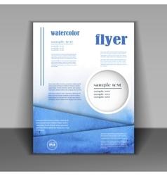 Design Business booklet vector image