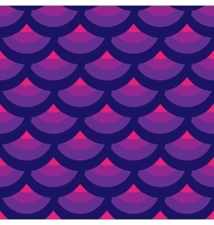 Half-round geometric seamless pattern 6007 vector image vector image