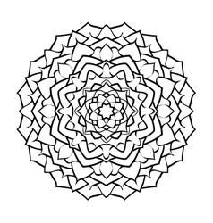 mandala arabic2 vector image vector image