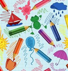 school sketch vector image