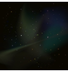 Universe stars nebula vector