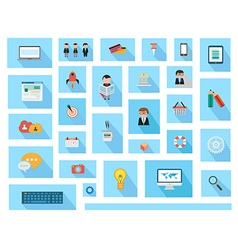 Flat style ui icons to use for your business vector