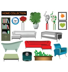 house collection vector image vector image