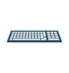 Keyboard gadget technology icon graphic vector