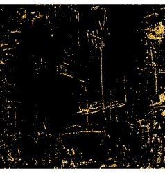 Light grunge gold black texture golden vector