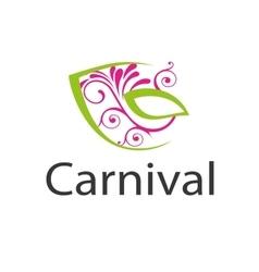 Logo carnival vector