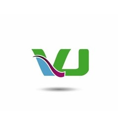 VJ logo vector image