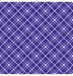 Symmetrical blue pattern seamless background vector