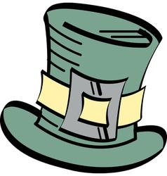Irish Top Hat vector image