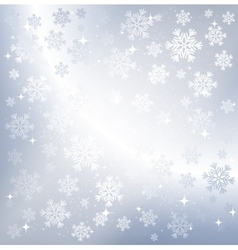 Silver winter abstract background vector