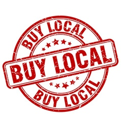 Buy local stamp vector