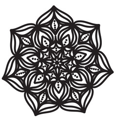 abstract mandala design vector image
