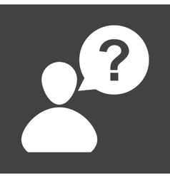 Customer Question vector image vector image