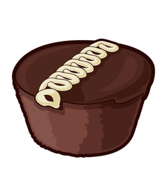 Snack Cake vector image vector image