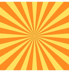 Yellow rays poster star burst vector
