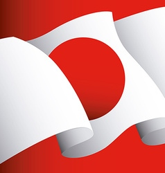 Japan emblem vector