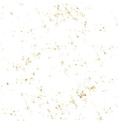 Gold grunge texture white vector