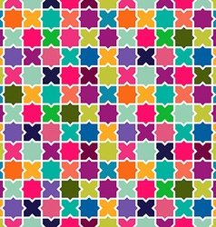 Abstract colorful mosaic pattern background vector image vector image