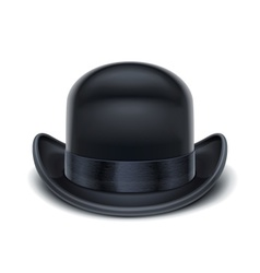 bowler hat vector image vector image