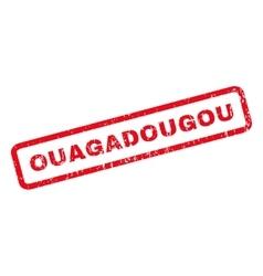 Ouagadougou Rubber Stamp vector image vector image