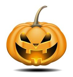 Pumpkin halloween vector