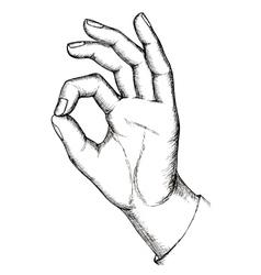 Sketch gesture vector