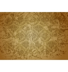 Brown seamless wallpaper pattern vector