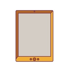 Tablet portable device vector