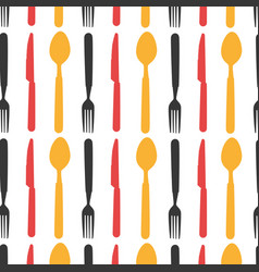 set cutlery tools icons vector image