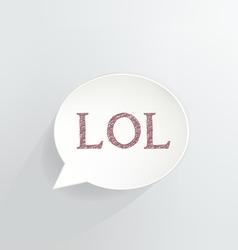 LOL vector image