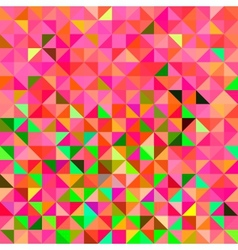 Abstract Geometric Color Background vector image vector image