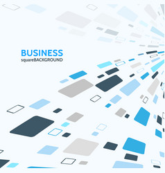Business background with wavy tiles vector