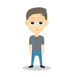Teenage boy vector image vector image