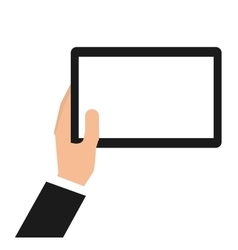 Tablet technology portable icon vector