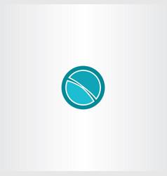 Globe logo abstract design element sign vector