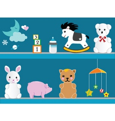 kid stuff vector image
