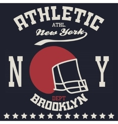 New york sport t-shirt vector