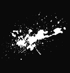 White blot on black background vector