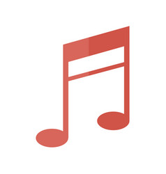 Music note melody sound harmony icon vector