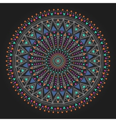 Geometric hipster circle 3ww311 11 vector