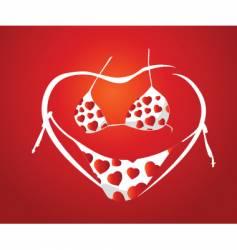 valentine concept vector image