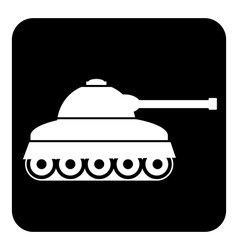 Panzer icon vector image vector image