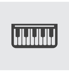 Piano icon icon vector image