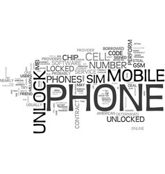 Which phones are restricted and how to unlock vector