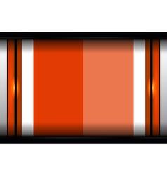 Abstract modern orange background vector
