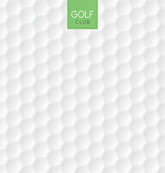 Golf ball texture background vector