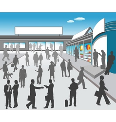 Mall illustration vector