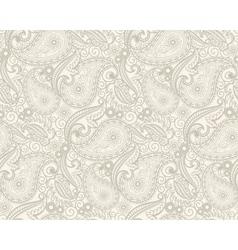 Paisley pattern vector