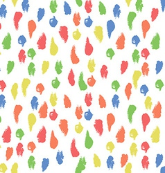 Seamless Pattern with Paint Smear Background vector image vector image