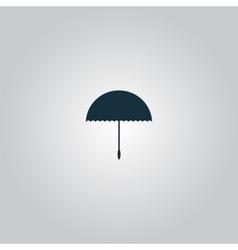 Umbrella icon - vector image vector image